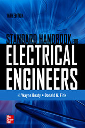 Standard Handbook for Electrical Engineers Sixteenth Edition by H. Wayne Beaty