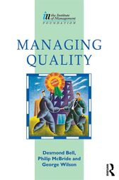 Managing Quality by Des Bell