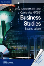 Cambridge IGCSE Business Studies Coursebook with CD-ROM by Chris J. Nuttall