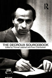 The Decroux Sourcebook by Thomas Leabhart