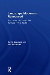 Landscape Modernism Renounced by David Jacques