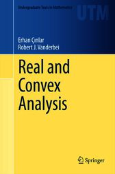 Real and Convex Analysis by Erhan Çinlar