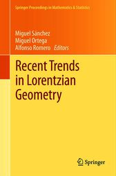 Recent Trends in Lorentzian Geometry by unknown