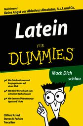Latein für Dummies by Clifford A. Hull