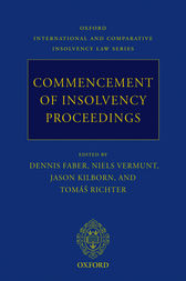 Commencement of Insolvency Proceedings by Dennis Faber