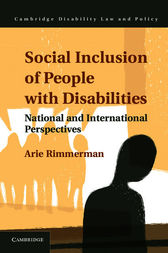 Social Inclusion of People with Disabilities by Arie Rimmerman