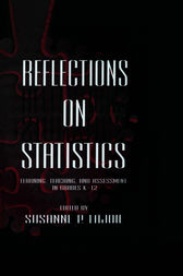 Reflections on Statistics by Susanne P. Lajoie