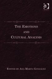 The Emotions and Cultural Analysis by Ana Marta González