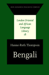 Bengali by Hanne-Ruth Thompson