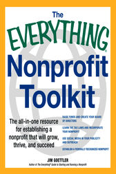 The Everything Nonprofit Toolkit by Jim Goettler