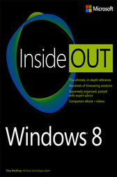 Windows 8 Inside Out by Tony Northrup