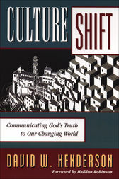 Culture Shift by David W. Henderson
