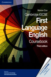 Cambridge IGCSE First Language Coursebook by Marian Cox