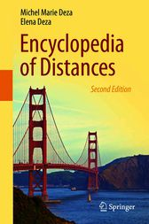 Encyclopedia of Distances by Michel Marie Deza