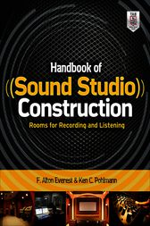 Handbook of Sound Studio Construction: Rooms for Recording and Listening by Ken Pohlmann