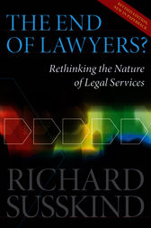 The End of Lawyers? by Richard Susskind OBE