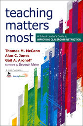 Teaching Matters Most by Thomas M. McCann
