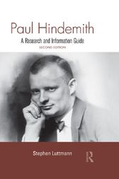 Paul Hindemith by Stephen Luttmann