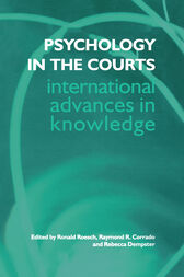 Psychology in the Courts by Raymond R. Corrado
