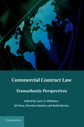 Commercial Contract Law by Larry A. DiMatteo