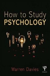 How to Study Psychology by Warren Davies