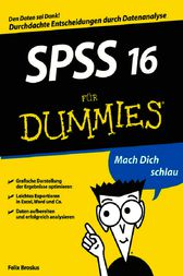 SPSS 16 fr Dummies