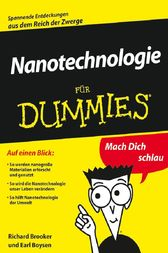 Nanotechnologie für Dummies by Richard D. Booker
