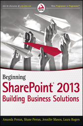 Beginning SharePoint 2013 by Amanda Perran
