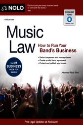 Music Law by Richard Stim