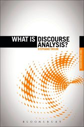 What is Discourse Analysis? by Stephanie Taylor