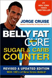 The Belly Fat Cure Sugar & Carb Counter by Jorge Cruise