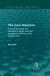 The Coal Question (Routledge Revivals)
