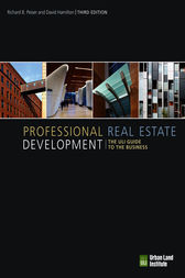 Professional Real Estate Development by Richard Peiser