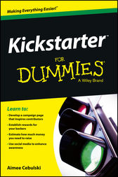 Kickstarter For Dummies by Aimee Cebulski