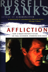 an analysis of the topic of affliction by the novel of russell banks Affliction - russell banks posted on march 14 domestic violence is a frequently occurring theme in banks's novels he drifted for some time, going through brief marriages before settling down banks choose the title affliction.