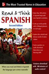 Read and Think Spanish, 2nd Edition by The Editors of Think Spanish