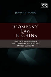 Company Law in China by J. Wang