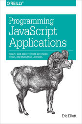 Programming JavaScript Applications by Eric Elliott