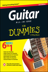 Guitar All-In-One For Dummies, Book + Online Video & Audio Instruction by Hal Leonard Corporation;  Jon Chappell;  Mark Phillips;  Desi Serna