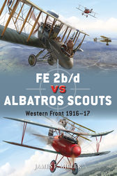 FE 2b/d vs Albatros Scouts by James F Miller