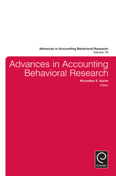 behavioral research in accounting Abstract- the purpose of this article is to explain how a paradigm can affect research results and how a paradigm apparently is no longer relevant in answering a practice, especially in behavioral accounting research in addition, this article also want to describe what is the appropriate paradigm for.