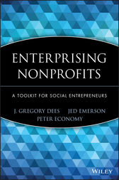 Enterprising Nonprofits by J. Gregory Dees
