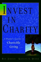 Invest in Charity by Ron Jordan