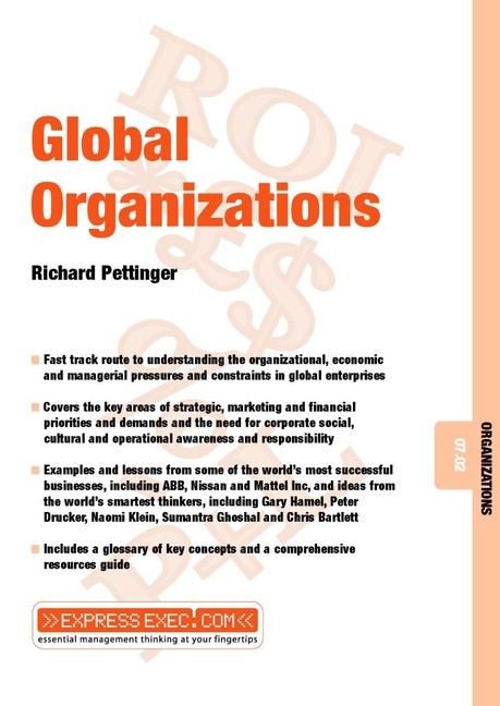 Download Ebook Global Organizations by Richard Pettinger Pdf