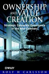 Ownership and Value Creation by Rolf H. Carlsson