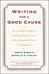 Writing For a Good Cause by Danielle Furlich