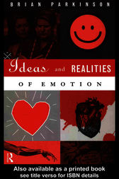 Ideas and Realities of Emotion by Brian Parkinson