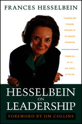 Hesselbein on Leadership by Frances Hesselbein