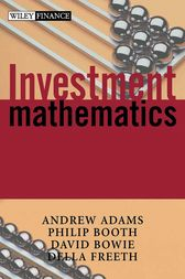 Investment Mathematics by Andrew T. Adams