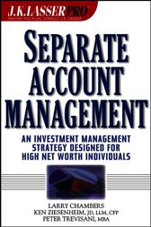 J.K. Lasser Pro Separate Account Management by Larry Chambers